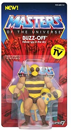 Masters Of The Universe Vintage Buzz Off Action Figure