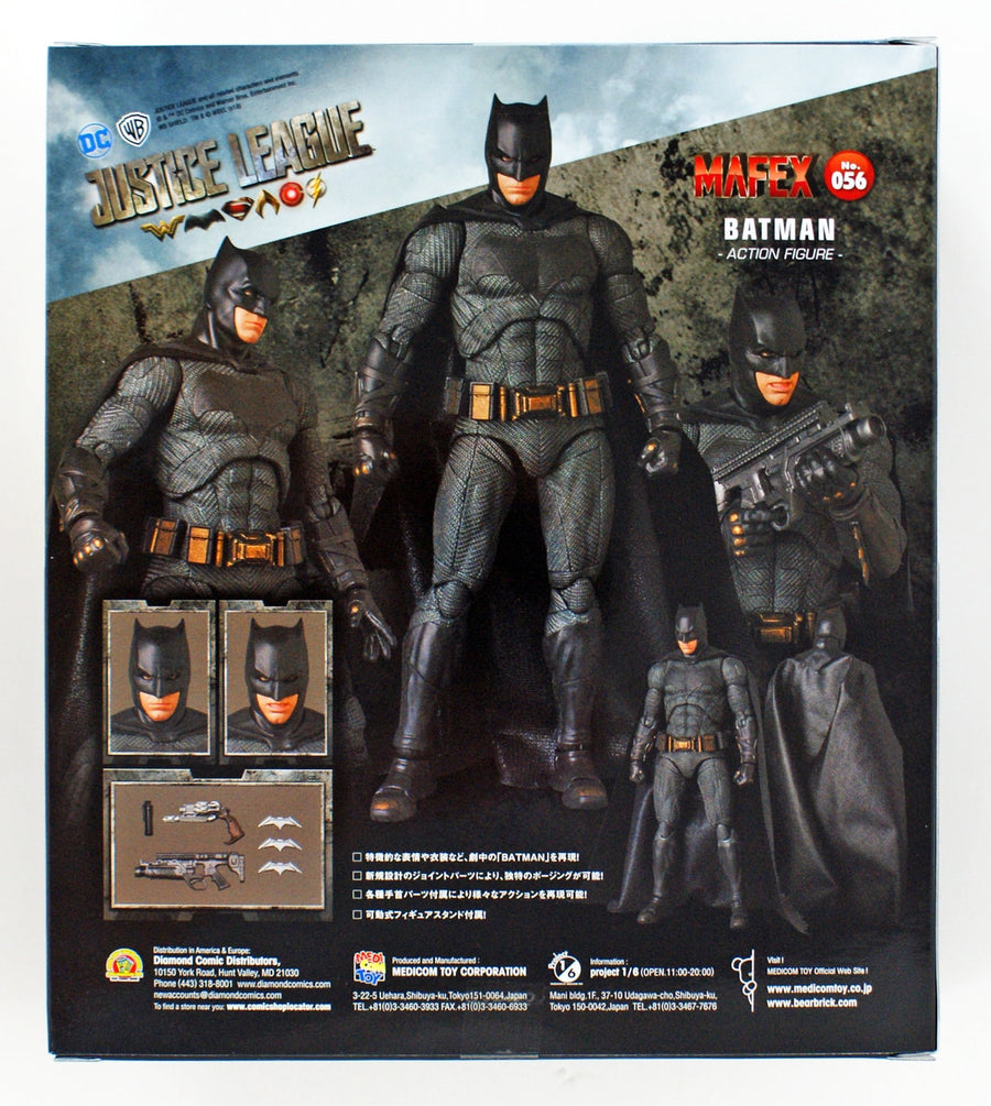 DC Mafex Justice League Batman Action Figure #56 Pre-Order - Action Figure Warehouse Australia | Comic Collectables