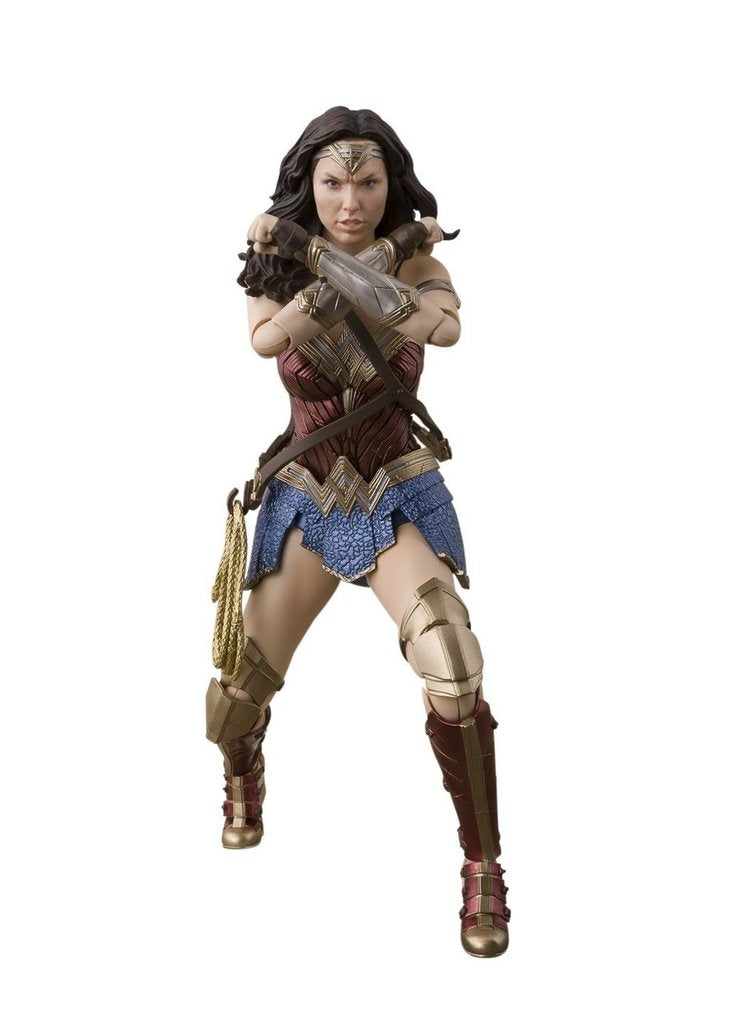 DC Bandai SH Figuarts Justice League Wonder Woman Action Figure - Action Figure Warehouse Australia | Comic Collectables