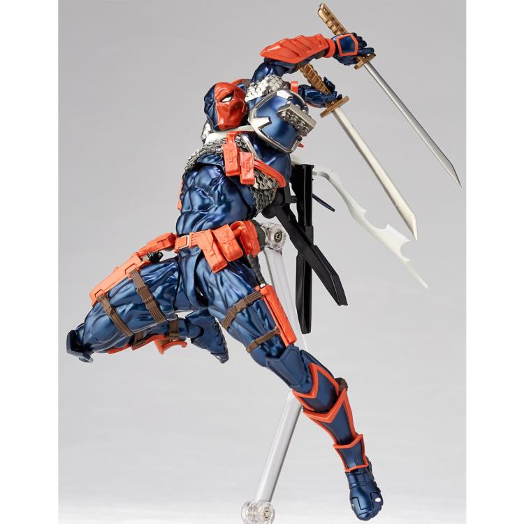 DC Kaiyodo Revoltech Amazing Yamaguchi Deathstroke #011 Pre-Order - Action Figure Warehouse Australia | Comic Collectables