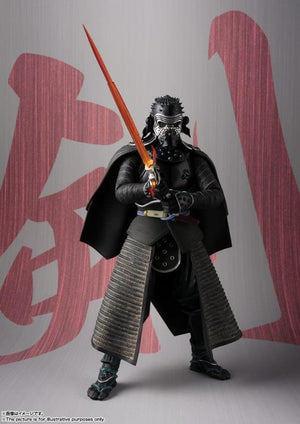 Star Wars Bandai Tamashii Nations Meisho Samurai Kylo Ren Movie Realization Action Figure
