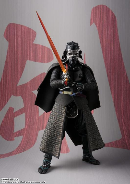 Star Wars Bandai Tamashii Nations Meisho Samurai Kylo Ren Movie Realization Action Figure Pre-Order