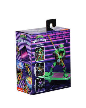 Teenage Mutant Ninja Turtles Neca Turtles In Time Donatello Action Figure Pre-Order
