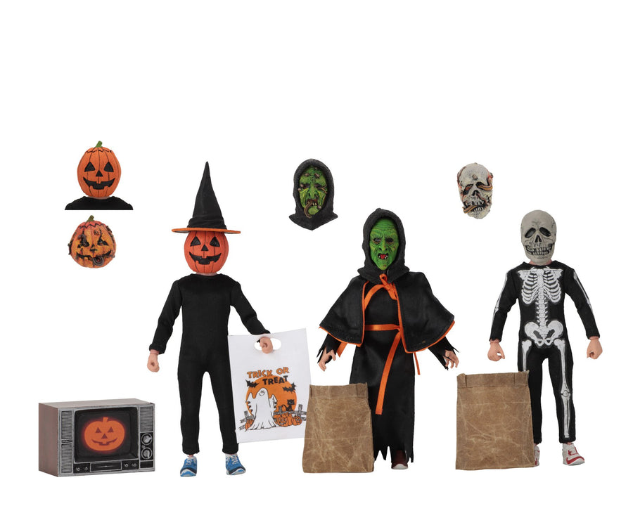 Halloween 3 Neca Season Of The Witch Clothed 8 Inch 3 Pack Action Figure Pre-Order