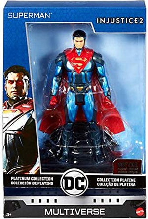 DC Multiverse Platinum Injustice 2 Superman Action Figure