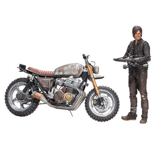 The Walking Dead TV Series Deluxe Daryl Dixon w/ Custom Bike Box Set