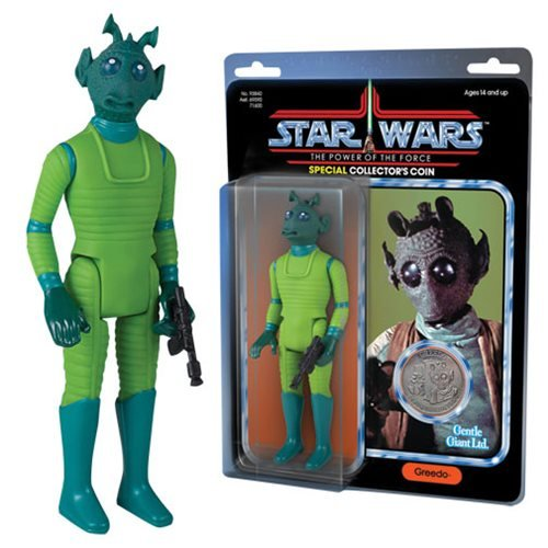 Star Wars Gentle Giant Vintage POTF Jumbo Greedo Kenner Action Figure