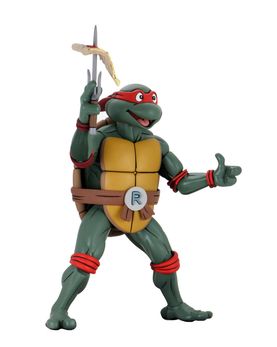 Teenage Mutant Ninja Turtles Neca Raphael Cartoon 1:4 Scale Action Figure Pre-Order
