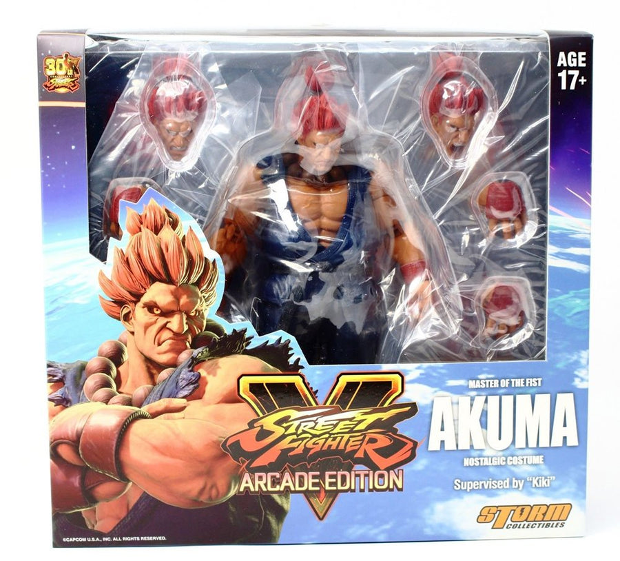 Street Fighter V Storm Collectibles Akuma Nostalgic Costume 1:12 Action Figure