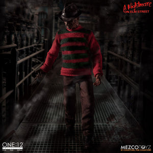 A Nightmare On Elm Street Mezco Freddy Krueger One:12 Scale Action Figure Pre-Order - Action Figure Warehouse Australia | Comic Collectables