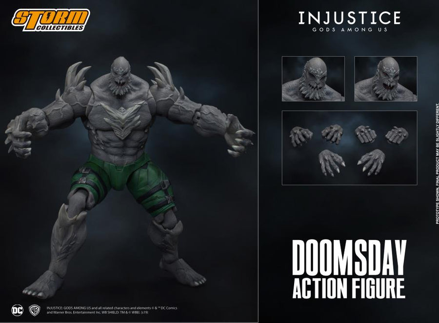 DC Storm Collectibles Injustice Gods Among Us Doomsday 1:12 Scale Action Figure Pre-Order
