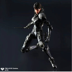 DC Square Enix Play Arts Kai Superman Man of Steel Faora-Ul Action Figure
