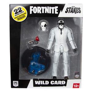 Fortnite Wild Card Black 7 Inch Action Figure