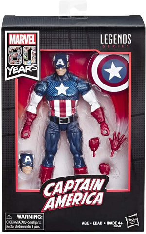 Marvel Legends 80th Anniversary Series Captain America Action Figure