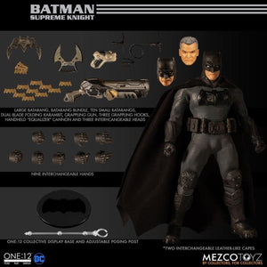DC Mezco Batman Supreme Knight One:12 Scale Action Figure Pre-Order