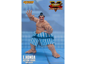 Street Fighter V Storm Collectibles E Honda Nostalgia Costume 1:12 Action Figure Pre-Order