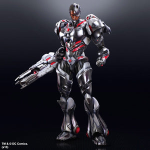DC Square Enix Play Arts Kai Justice League Cyborg Action Figure