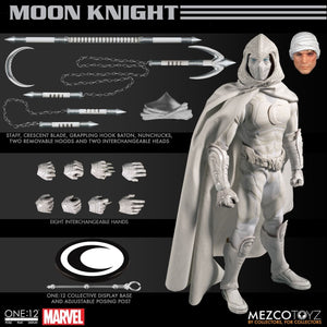 Marvel Mezco Moon Knight One:12 Scale Action Figure