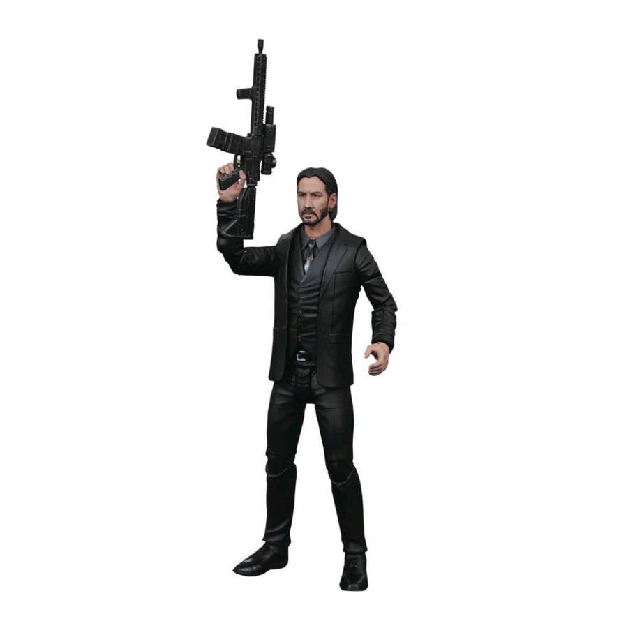 John Wick Diamond Select John Wick Black Suit Action Figure