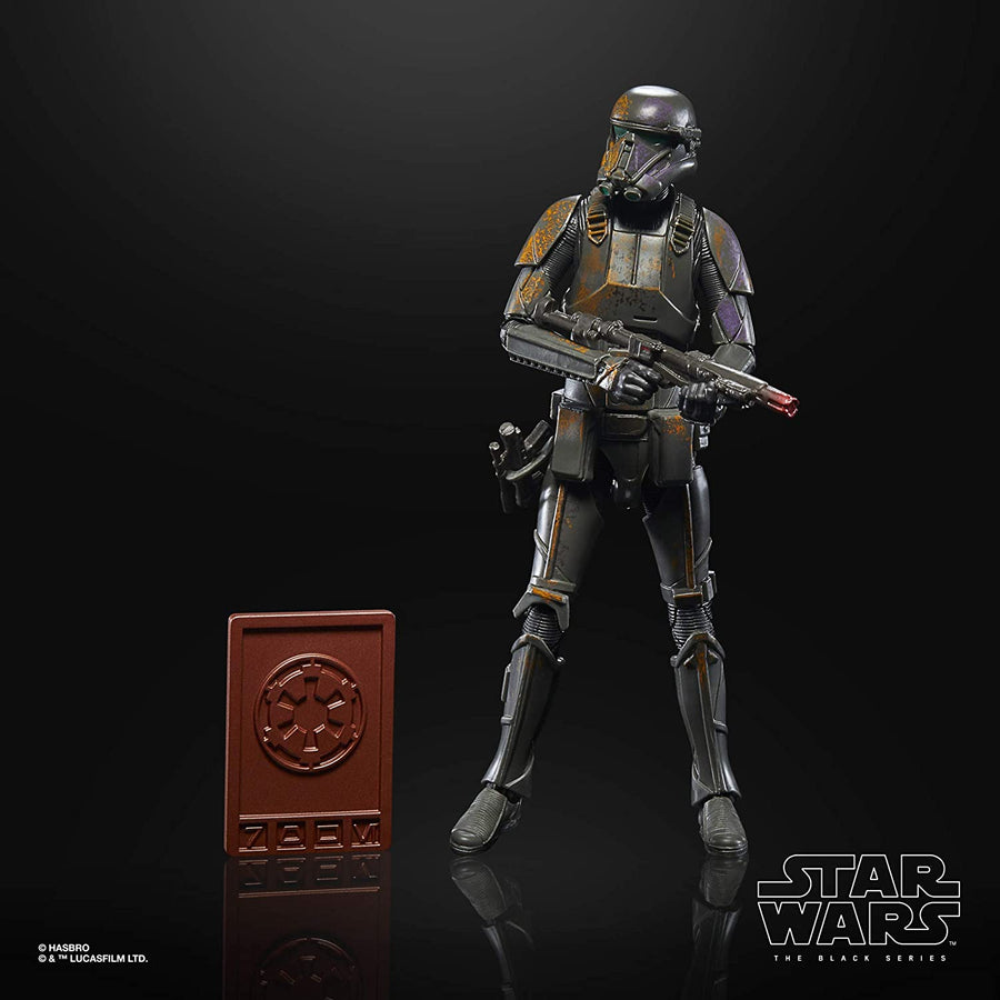 Star Wars Black Series Mandalorian Credit Collection Imperial Death Trooper Action Figure Pre-Order
