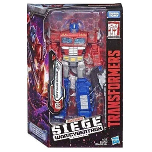 Transformers Siege War For Cybertron Voyager Optimus Prime Action Figure