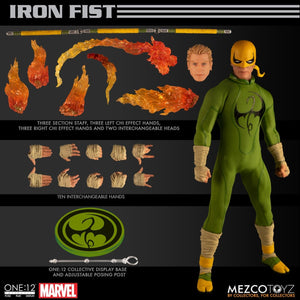 Marvel Mezco Iron Fist One:12 Scale Action Figure Pre-Order