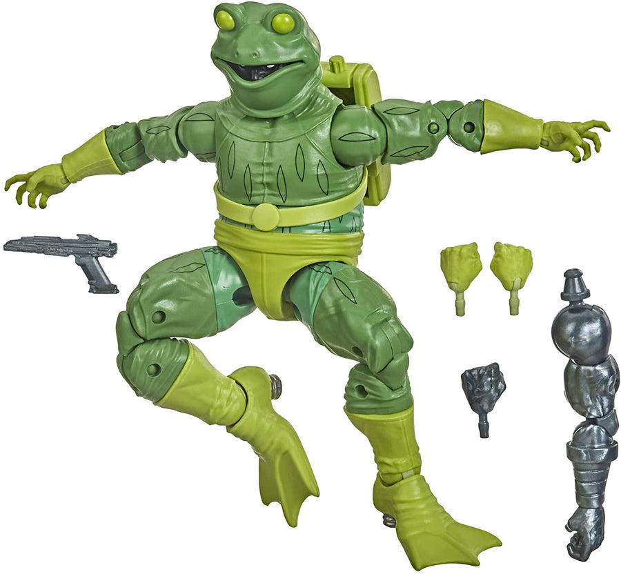 Marvel Legends Spider-Man Into The Spiderverse Series Frog-Man Action Figure Pre-Order