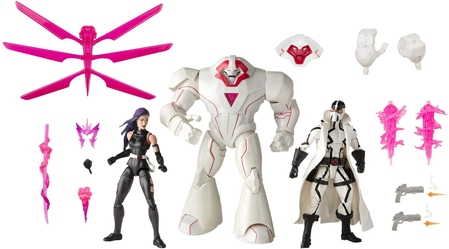 Marvel Legends X-Men Series Exclusive Psylocke Nimrod & Fantomex Action Figure 3-pack