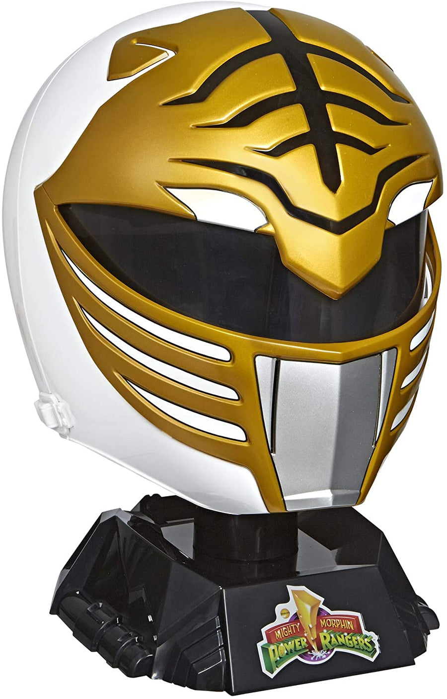 Power Rangers Lightning Collection Mighty Morphin White Ranger Helmet Prop Replica Pre-Order