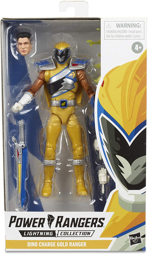 Power Rangers Lightning Collection Wave 3 Dino Charge Gold Ranger Action Figure