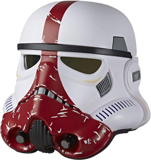 Star Wars Black Series Incinerator Trooper Electronic Helmet 1:1 Scale Prop Replica