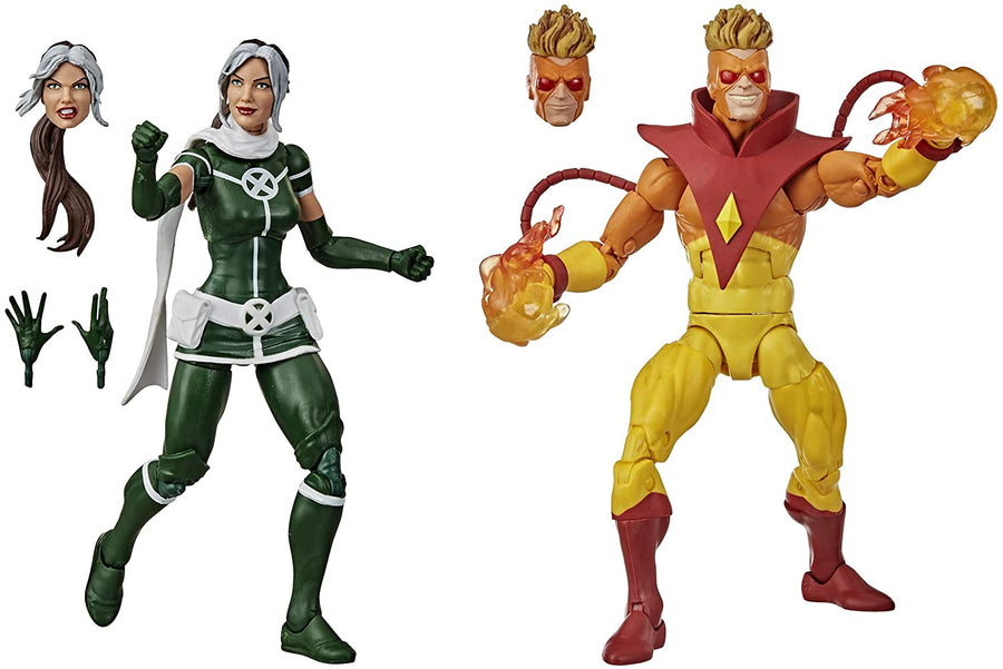Marvel Legends X-Men Rogue & Pyro Action Figure 2-Pack