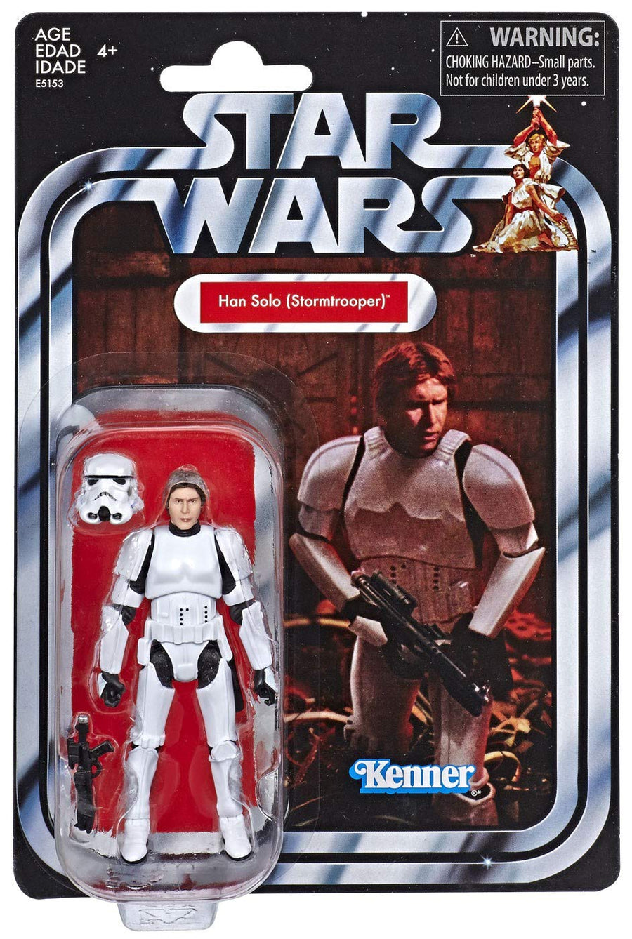 Star Wars The Vintage Collection Exclusive Han Solo Stormtrooper Action Figure