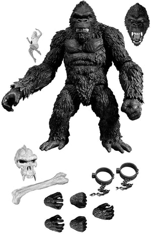 King Kong Mezco PX Exclusive King Kong Skull Island Black & White 7 inch Action Figure Pre-Order