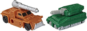 Transformers Earthrise War For Cybertron Micromasters Bombshock & Growl Military Patrol Action Figure