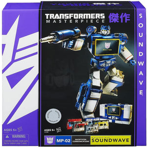 Transformers TRU MP-02 Masterpiece Soundwave Action Figure