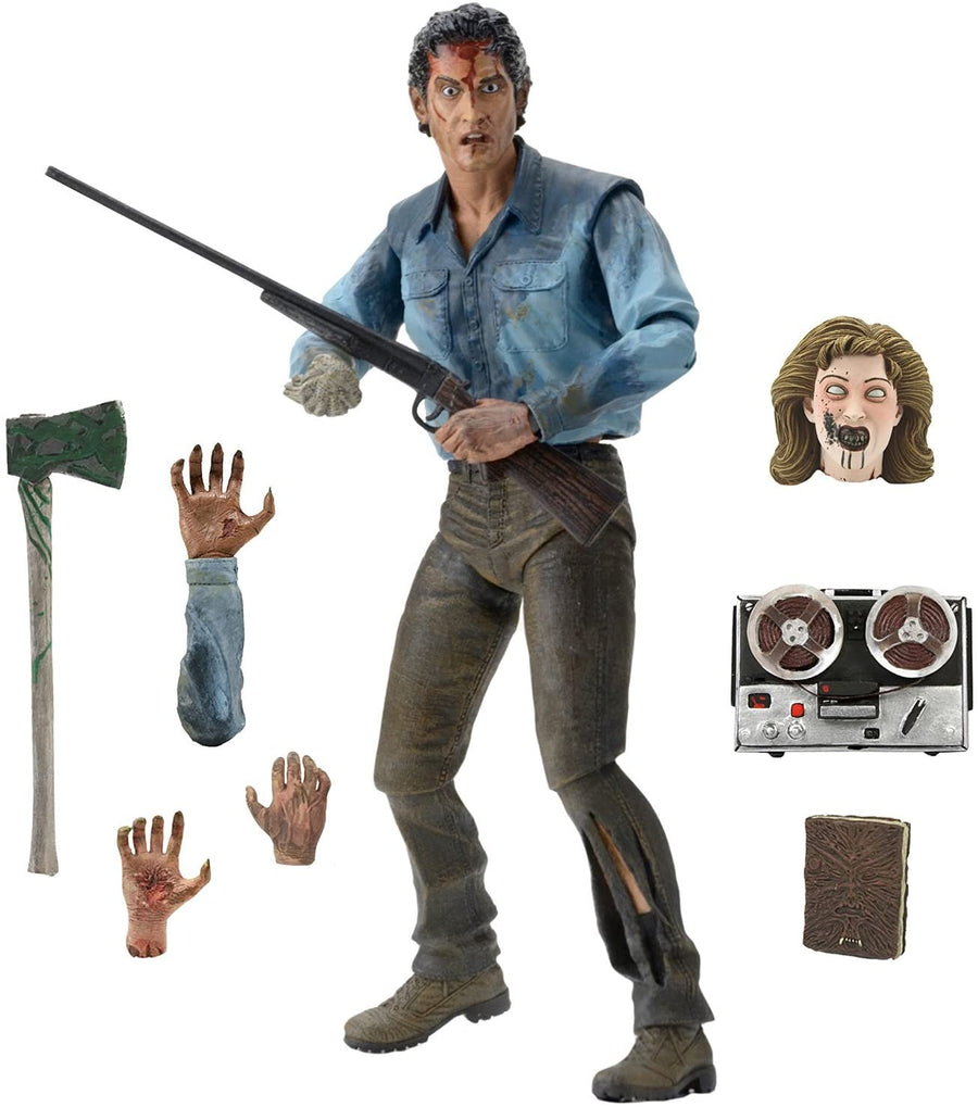 Evil Dead Neca Evil Dead 2 Ultimate Ash Action Figure