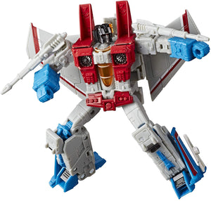 Transformers Earthrise War For Cybertron Voyager Starscream Action Figure