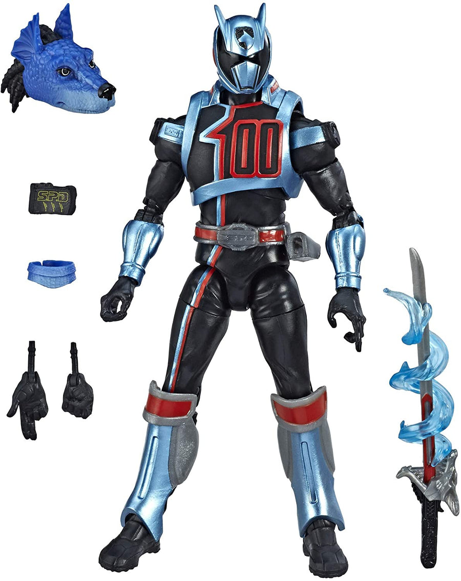 Power Rangers Lightning Collection Wave 1 SPD Shadow Ranger Action Figure
