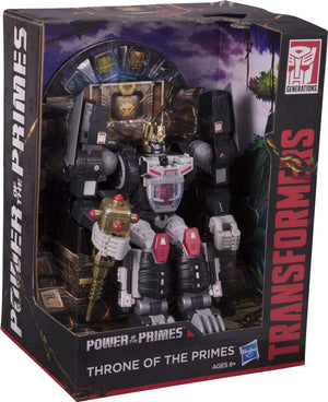 Damaged Packaging Transformers Power of the Primes SDCC Exclusive Throne Of Primes Box Set