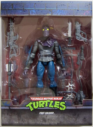 Teenage Mutant Ninja Turtles Super7 Ultimates Foot Soldier Action Figure