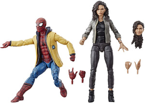 Marvel Legends Spider-Man Homecoming Spider-Man & MJ Action Figure 2-Pack