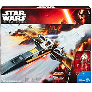 Star Wars The Force Awakens Poe's X-Wing Vehicle 3.75 Inch Action Figure