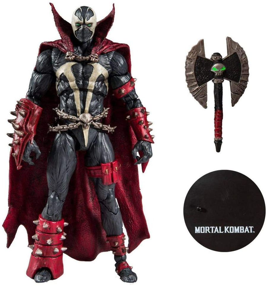 Mortal Kombat McFarlane Spawn w/ Axe 7 Inch Action Figure