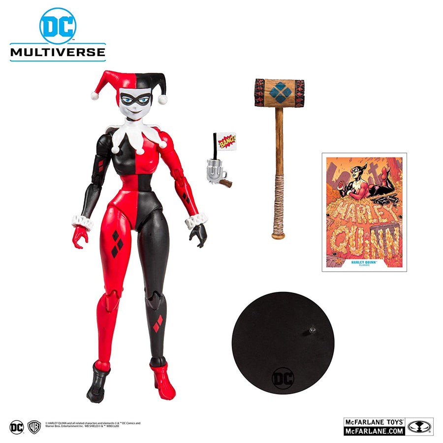 DC Multiverse McFarlane Series Harley Quinn Classic Action Figure Pre-Order
