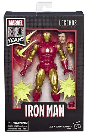 Marvel Legends 80th Anniversary Series Classic Iron Man Action Figure
