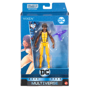 DC Multiverse Lex Luthor Rebirth Series Vixen Action Figure Pre-Order