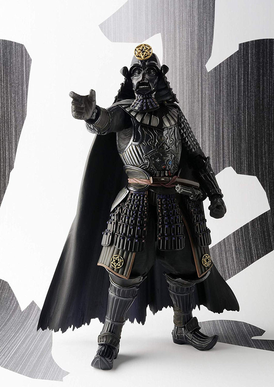 Star Wars Bandai Tamashii Nations Samurai Taisho Darth Vader Movie Realization Action Figure