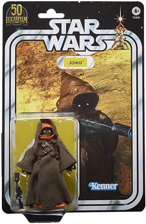 Star Wars Black Series 50th Anniversary Lucasfilm Exclusive Jawa Action Figure