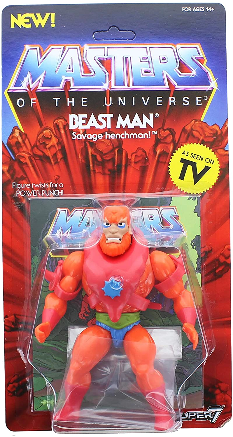 Masters Of The Universe Vintage Beast Man Action Figure
